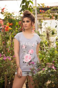Camiseta Feminina Fearless