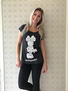 Camiseta Feminina Minnie Natal