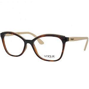Armação Óculos de Grau Vogue Fem. Metal Twist VO5160L 2649