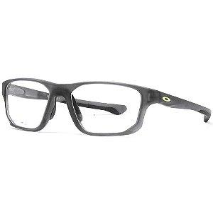 Armação Óculos de Grau Oakley Masc. Cross. Fit OX8136-02 55