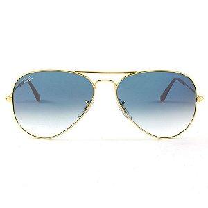 Óculos de Sol Ray-Ban Aviador RB3025L 001/3F 58