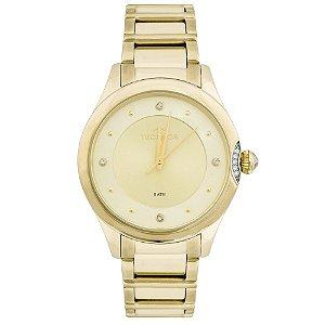 Relógio Technos Feminino Elegance Crystal Analógico 2035MFR/4X