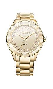 Relógio Technos Feminino Elegance Crystal Swarovski Analógico 2035LTV/4X