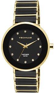 Relógio Technos Feminino Elegance Ceramic/Sapphire Analógico 2035LMM/4P