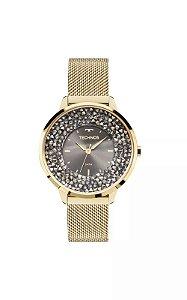 Relógio Technos Feminino Crystal Analógico 2035MLG/4C