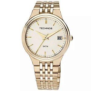Relógio Technos Masculino Classic Steel Analógico 2115GR/4X