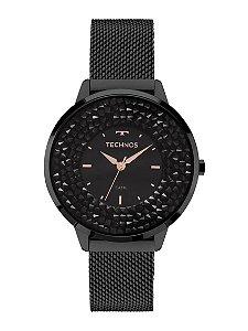 Relógio Technos Feminino Elegance Crystal Swarovski Analógico 2035MLF/1P