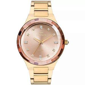 Relógio Technos Feminino Elegance Crystal Swarovski Analógico 2036MJK/4T