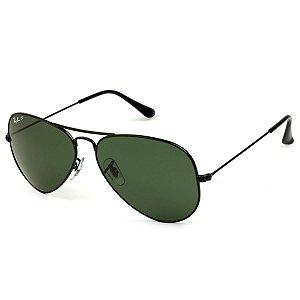e9bfd26da87f3 Óculos de Sol Ray-Ban Aviador RB3025L 002 58 62 Polarizado