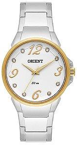 Relógio Orient Feminino Eternal Cristais Swarovski Analógico FTSS0045 B2SX