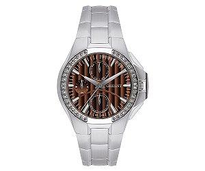 Relógio Orient Feminino Eternal Cristais Swarovski Analógico FBSSM005 M1SX
