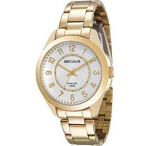 Relógio Seculus Feminino Long Life Analógico 28774LPSVDA1