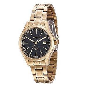 Relógio Seculus Masculino Long Life Analógico 20433GPSVDA2