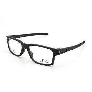 Armação Óculos de Grau Oakley Masculino Latch EX OX8115-01 - Ótica Quartz fbdfeaf5b8