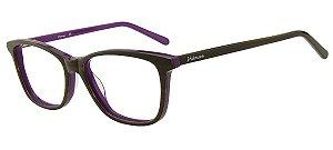 Armação Óculos de Grau Hickmann Feminino HI7003 C02