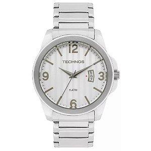 Relógio Technos Masculino Classic Steel Analógico 2115KSA/1K