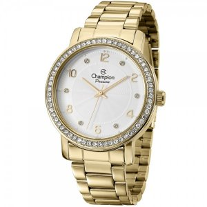 29696f45eec Relógio Champion Feminino Passion Analógico CN29249H - Ótica Quartz