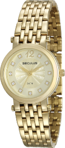23c5a41c09c Kit Relógio Seculus Feminino Troca Pulseira Analógico 20149LPSPDS1 ...