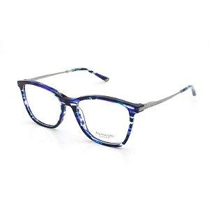 162a199f64f21 Armação Óculos de Grau Ana Hickmann Feminino AH6269 E02 - Ótica Quartz