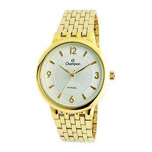 Relógio Champion Feminino Steel Analógico CA21731H