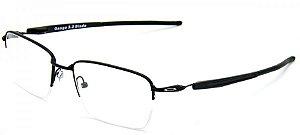 7861d2d4ddfd5 Armação Óculos de Grau Oakley Masculino Steel Line S OX8097-01 ...