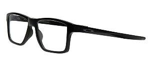 Armação Óculos de Grau Oakley Unissex Chamfer Squared OX8143-01