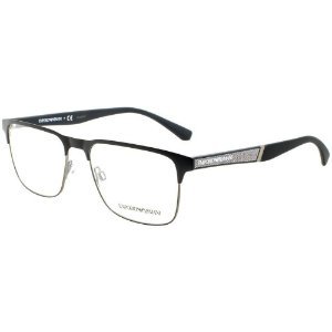 95bfaf7eb3b2a Armação Óculos de Grau Emporio Armani Masculino EA1027 3001 - Ótica ...