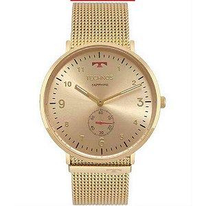 Relógio Technos Unissex Classic Slim Analógico 1L45AX/4A