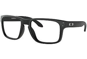 Armação Óculos de Grau Oakley Masculino Holbrook RX OX8156-01 56