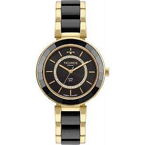 Relógio Technos Feminino Elegance Ceramic/Sapphire Analógico 2036MKP/4P
