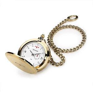 Relógio de Bolso Technos Masculino Classic Analógico 1L45BB/4B
