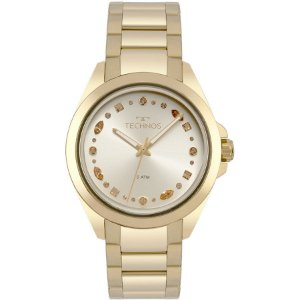 Relógio Technos Feminino Elegance Crystal Swarovski Analógico 203AAA/4D