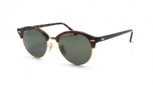 Óculos de Sol Ray-Ban Clubround RB4246 990/58 51 Polarizado