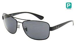 Óculos de Sol Ray-Ban RB3518L 006/81 63 Polarizado