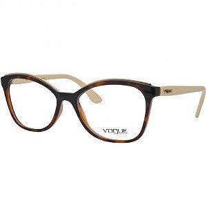 Armação Óculos de Grau Vogue Feminino Metal Twist VO5160L 2649
