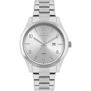 Relógio Technos Masculino Classic Steel Analógico 2115MRB/1K