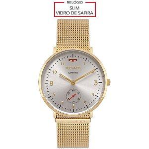 Relógio Technos Unissex Classic Slim Analógico 1L45AZ/4B