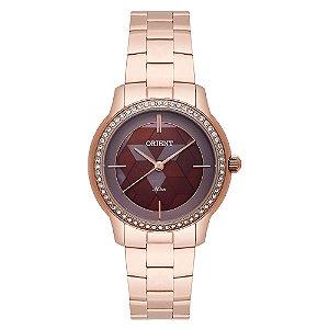 Relógio Orient Feminino Cristais Swarovski Analógico FRSS0034 N1RX