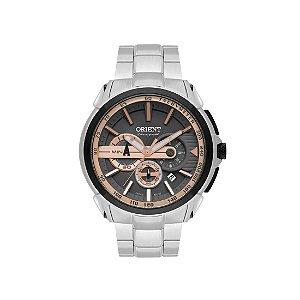 Relógio Orient Masculino Cronógrafo MBSSC186 G1SX