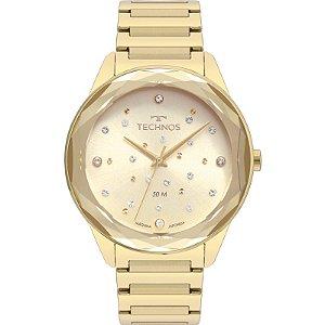 Relógio Technos Elegance Crystal Feminino Quartz 2036MKH/4X