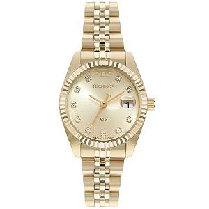 Relógio Technos Riviera Feminino Dourado GL10IG/1D