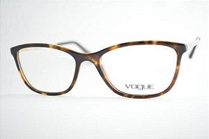 Armação Óculos de Grau Vogue Feminino VO5219L W656