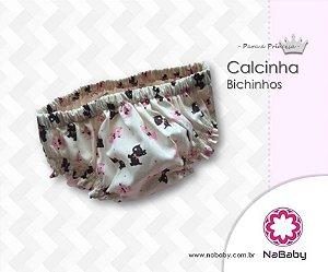 Calcinha Bichinhos