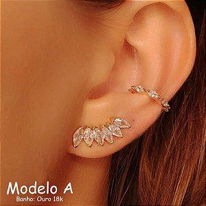 Ear Cuff Cristais