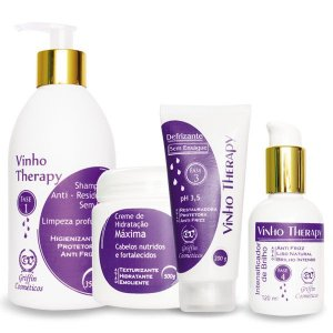 Kit hair system vinho therapy