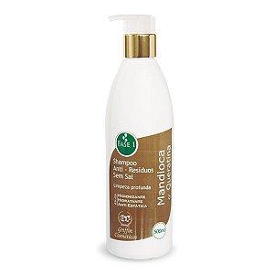 Shampoo mandioca com queratina
