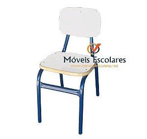Cadeira Escolar Adulto Fórmica RETA