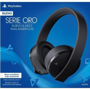 Headset serie oro Wireless Stereo Sony Ps4