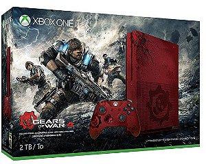 Console XBOX ONE S EDIÇÃO GEARS OF WAR 4  + 2 TB de HD