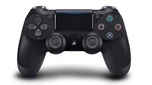 Controle dualshock 4 preto para PS4 ( padrão NOVO )